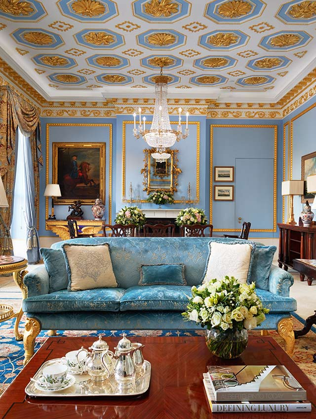 Hotels London The Lanesborough Royal Suite Lounge